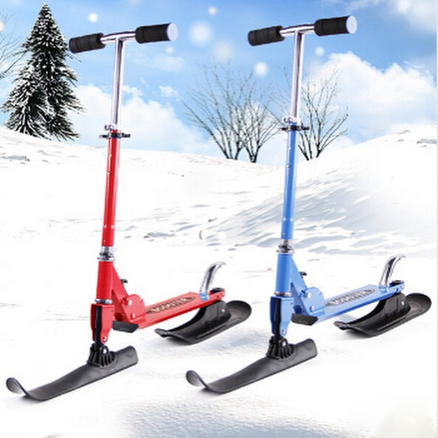 Для катания по снегу своими руками